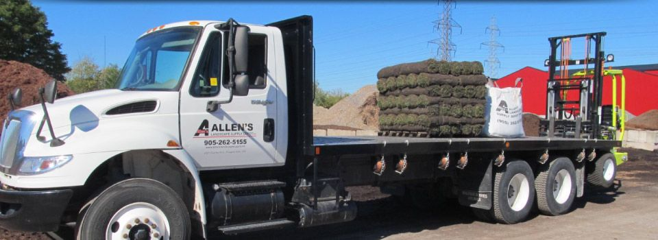 Allen's delivery flatbed
